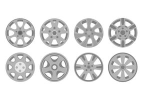 Free Hubcap Icons Vector