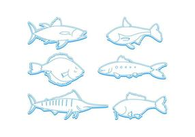Free Outstanding Ocean Fish Vectors