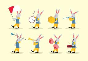 Kanin Marching Band Vector