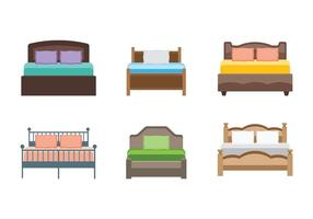 Bedding Vector Icons