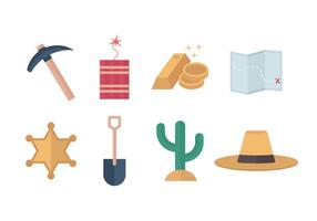 Free Gold Rush Vector Icons