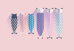 Ironing Board Motif Design Vector