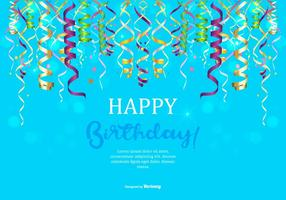 Happy Birthday Illustration vector