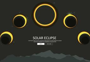 Solar Eclipse Phase Illustration