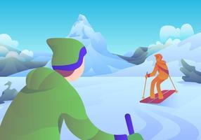 Corredera de hielo matterhorn