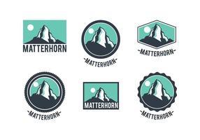 Matterhorn logo vecteur gratuit