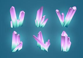Quartz set free vector