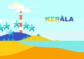 Lighthouse Of Kerala Free Vector