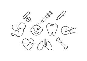 Free Medical Line Icon Vector