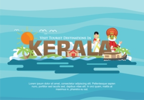Kerala vektor illustration
