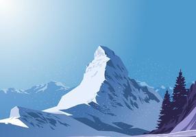 Matterhorn Vector