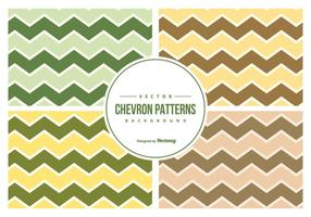 Collection vectorielle Chevron Pattern Collection
