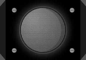 Vecteur de fond de haut-parleur