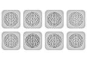 Vector Of Speaker Grill