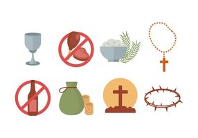 Free Lent Vector Icons