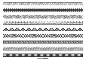 Decorative Vector Border Collection