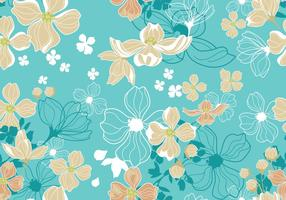 Dogwood Seamless Pattern