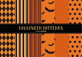 Spooky Halloween Pattern Collection vector