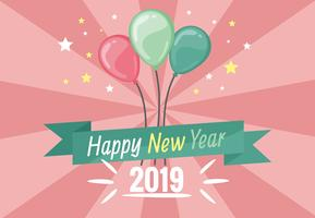 Happy New Year Vector Background