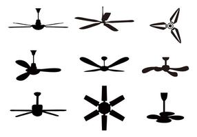 Gratis Ceiling Fan Pictogrammen Vector
