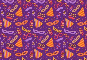 Libre vectores patrón de Carnaval