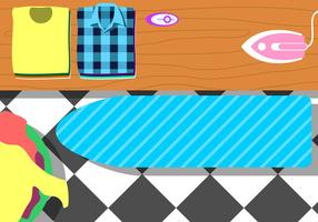 Ironing Table Free Vector