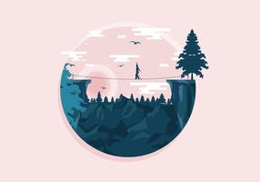 Tightrope-on-the-mountain-vector