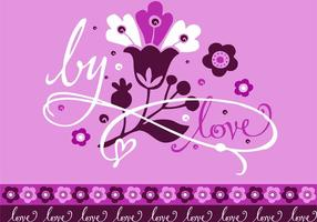 Purple Romantic Card Design