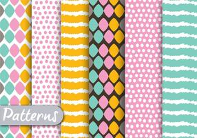 Vector-colorful-pattern-set