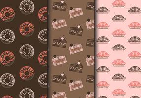 Free Vintage Sweets Patterns vector