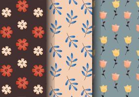 Padrões florais do vintage grátis