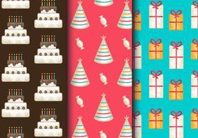 Gratis tappning födelsedagsfest mönster