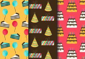 Freie Weinlese-Geburtstagsfeier-Muster
