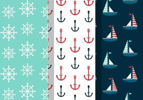 Free Vintage Summer Holiday Patterns vector