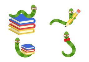 Vectores de leitor de livros
