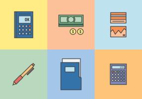 Buchhaltung und Buchhaltung Vektor
