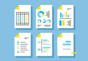 Bookkeeping Vector Illustration