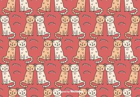 Cats Couple Pattern