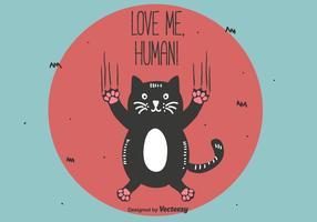 Love Me Human Vector
