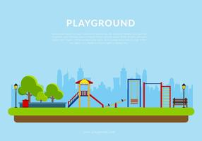 Playground Template Free Vector
