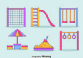 Hand Drawn Playground Element Vector