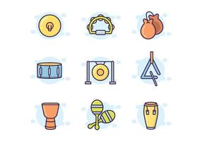 Colorful Percussion Icon