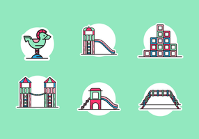 Jungle Gym Gratis Vector Pack