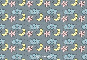Sweet Dreams Vector Pattern