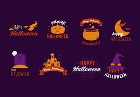 Glücklicher Halloween-Vektor