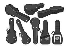 Guitar Case Vector