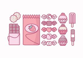 Vector Sweets Collection