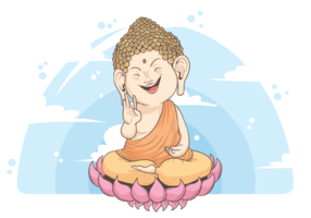 Buddah Vektorillustration