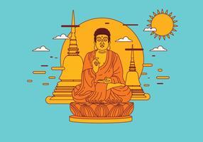 Buddah vector