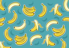 Plantain Pattern Vector
